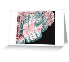 Silenced Secrets Greeting Card