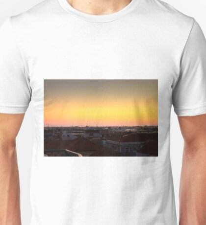 Aveiro and the harbour Unisex T-Shirt