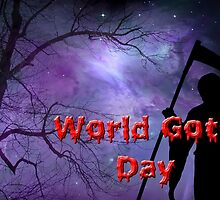 Word Goth Day (Grim Reaper) by GothCardz
