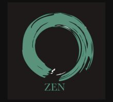 7 DAY'S OF SUMMER-YOGA ZEN RANGE- EMERALD ENSO Kids Clothes
