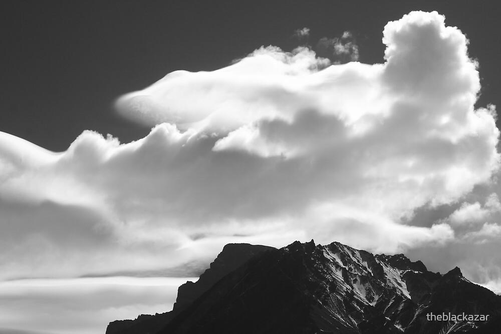 fake mountain! by theblackazar