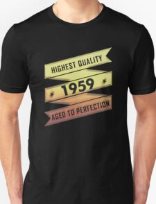 Highest Quality 1959 Aged To Perfection T-Shirt