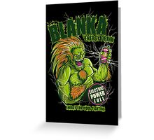 BLANKA ENERGY DRINK Greeting Card