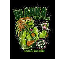 BLANKA ENERGY DRINK Photographic Print