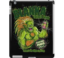 BLANKA ENERGY DRINK iPad Case/Skin
