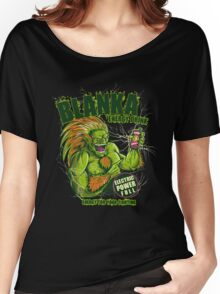 BLANKA ENERGY DRINK Women's Relaxed Fit T-Shirt