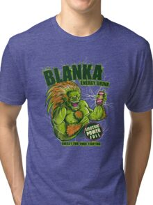 BLANKA ENERGY DRINK Tri-blend T-Shirt