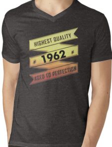 Highest Quality 1962 Aged To Perfection Mens V-Neck T-Shirt