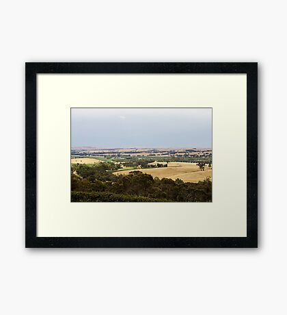 Clare Valley Framed Print