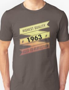 Highest Quality 1963 Aged To Perfection T-Shirt