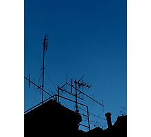 Antennas invasion Photographic Print