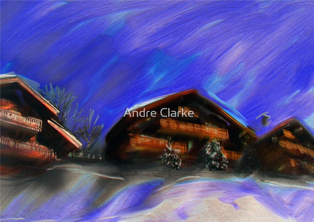 A Night in Meribel by Andre Clarke