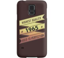 Highest Quality 1965 Aged To Perfection Samsung Galaxy Case/Skin