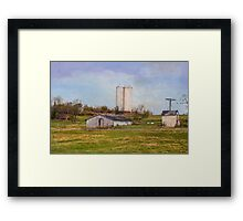 Country Farm Framed Print