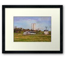 Country Farm Framed Print
