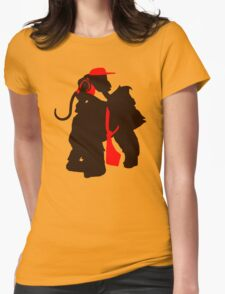 DK and Diddy (large print) Womens Fitted T-Shirt