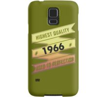 Highest Quality 1966 Aged To Perfection Samsung Galaxy Case/Skin