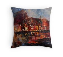dinant belgium Throw Pillow