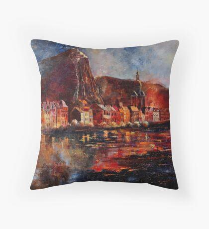 dinant belgium Throw Pillow