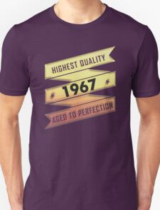 Highest Quality 1967 Aged To Perfection T-Shirt