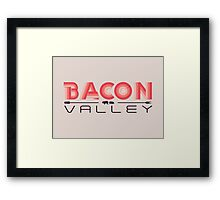 BACON VALLEY Framed Print