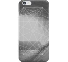 Crystal maze dwindling on the shore  iPhone Case/Skin