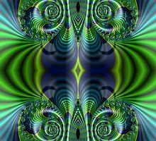 Green And Blue by Steve Purnell