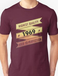 Highest Quality 1969 Aged To Perfection T-Shirt