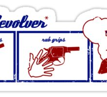 steam revolver (priciple of operation) Sticker