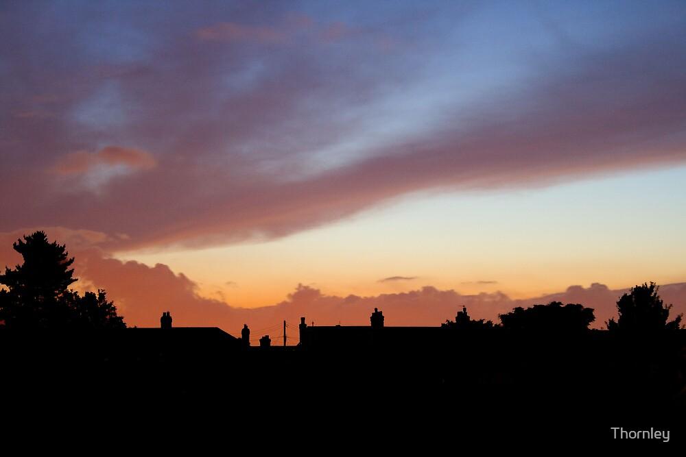 suburban sky by Thornley