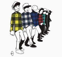 Shirt Parade by Bizarro Art