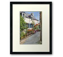 Rochefort-en-Terre, Brittany, France Framed Print