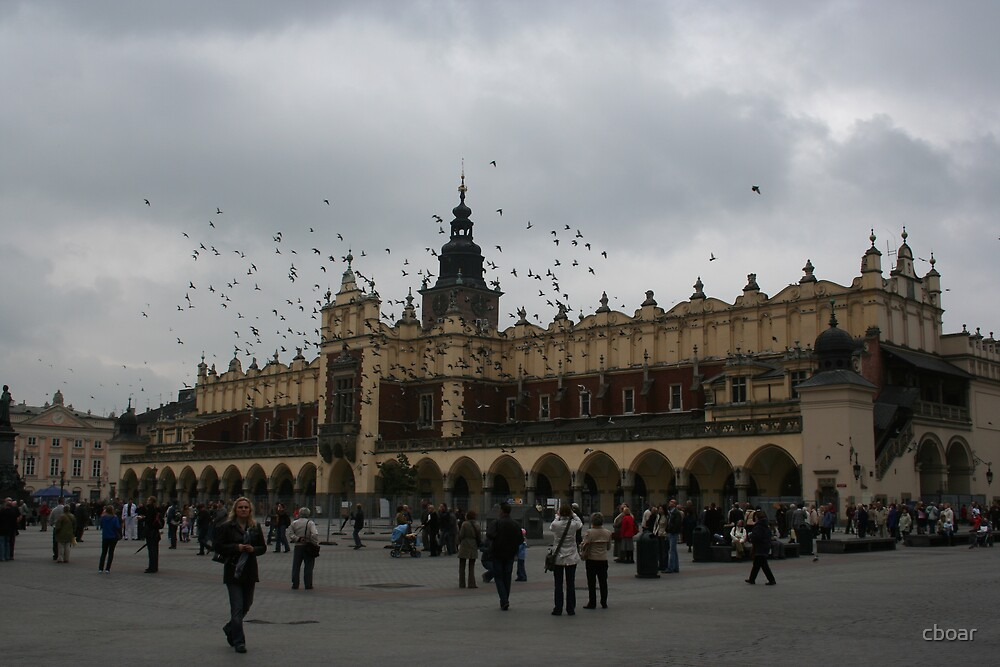 Krakow - Main square by cboar