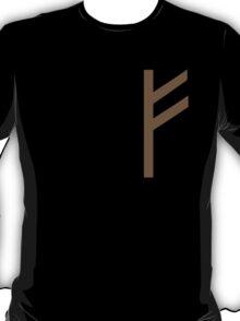 Rune Fehu - luck, prosperity & personal power T-Shirt