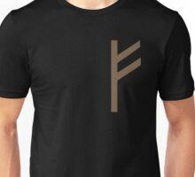 Rune Fehu - luck, prosperity & personal power Unisex T-Shirt