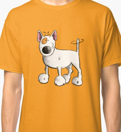 Funny Bull Terrier Classic T-Shirt