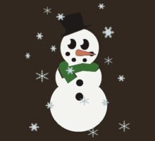 snowflake snowman by nat85