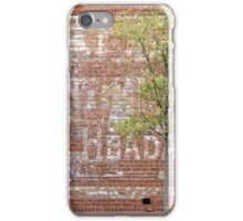 Ghost Sign iPhone Case/Skin
