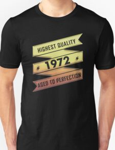 Highest Quality 1972 Aged To Perfection T-Shirt
