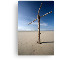 Salvation at the beach Canvas Print