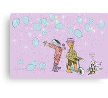 Mister Baron and his Magus Bird Magic Whistle Canvas Print