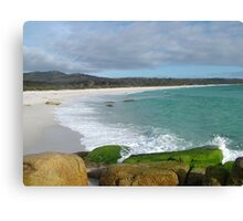 Binalong Bay on East Coast of Tasmania , Australia Canvas Print