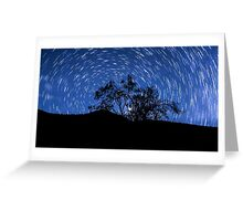 Circle stars Greeting Card