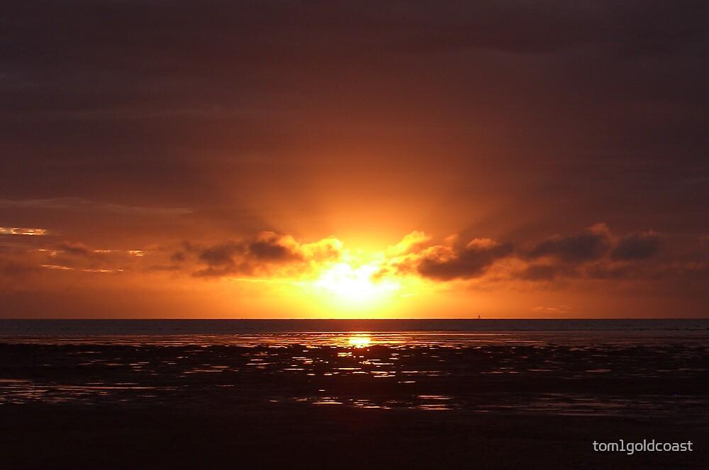 Fiji Sunset by tom1goldcoast