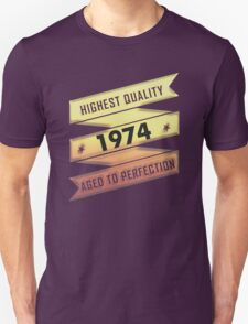 Highest Quality 1974 Aged To Perfection T-Shirt