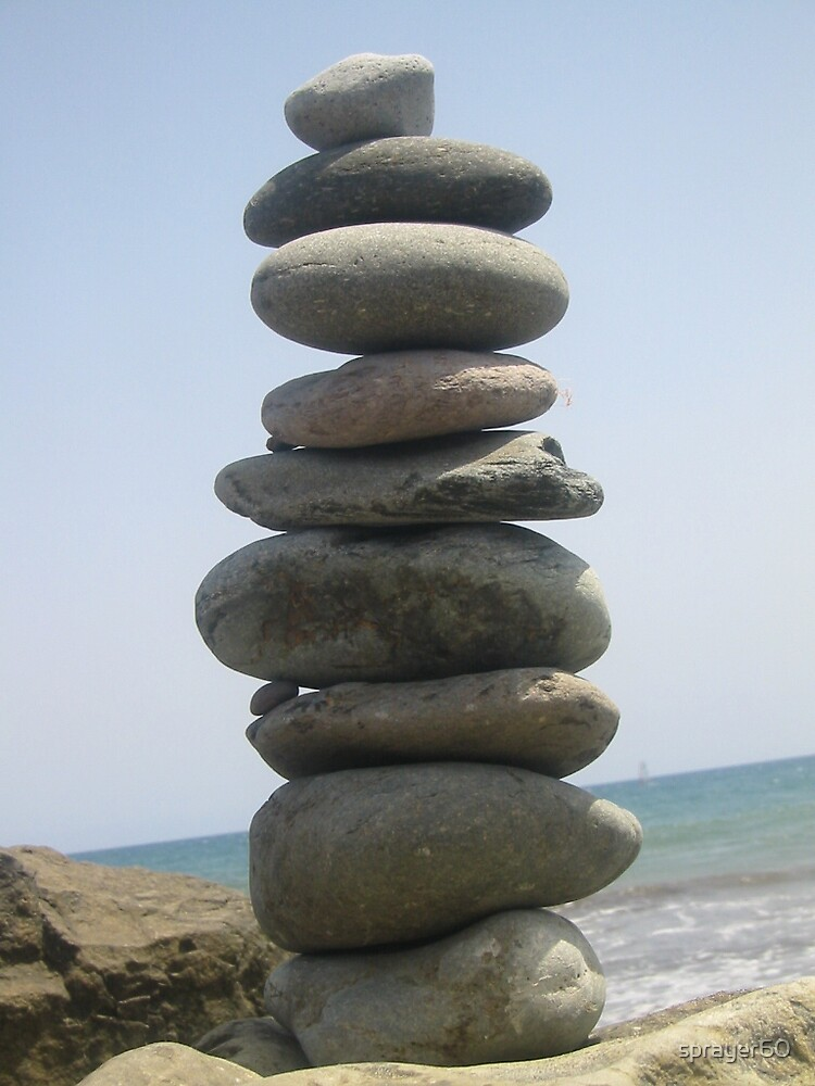 PEBBLE TOWER by sprayer60