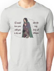 Into the Very Fires of Mordor Unisex T-Shirt