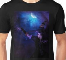 Mystic Night and Witch Unisex T-Shirt