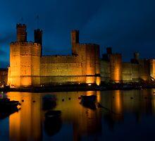 Caernarfon Castle by sgotwr