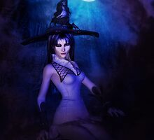 Mystic Night and Witch 2 by AnnArtshock